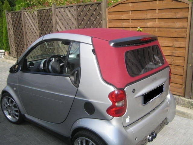 smart fortwo cabrio verdeck erneuert cabrioverdeck service helf. Black Bedroom Furniture Sets. Home Design Ideas