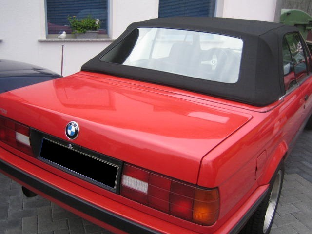 bmw e30 cabrio verdeck erneuert cabrioverdeck service helf. Black Bedroom Furniture Sets. Home Design Ideas