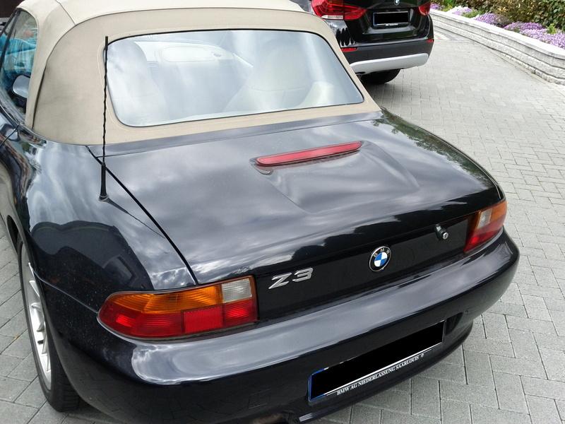 Bmw Z3 Roadster Heckfenster Instandgesetzt