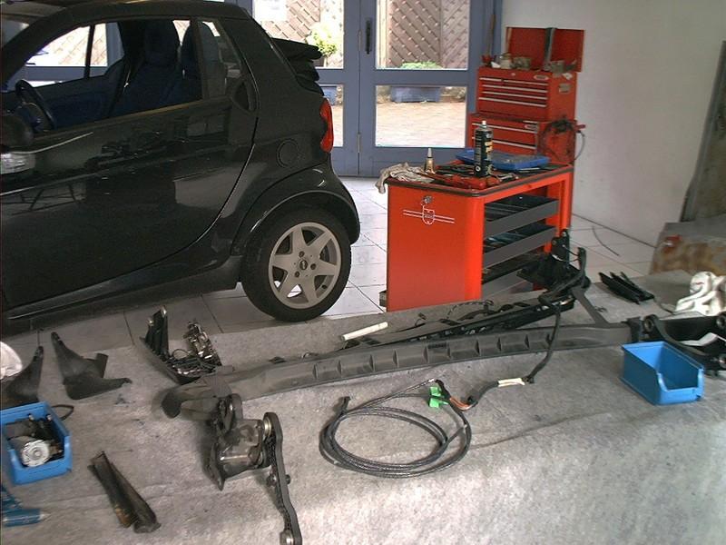 Smart ForTwo Cabrio Mod.450 [Verdeck überarbeitet] - Cabrioverdeck ...