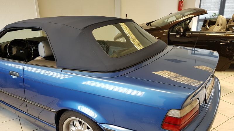 bmw e36 cabrio verdeck erneuert cabrioverdeck service helf. Black Bedroom Furniture Sets. Home Design Ideas
